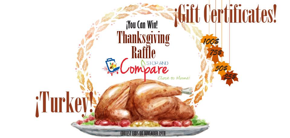 Thanksgiving Raffle